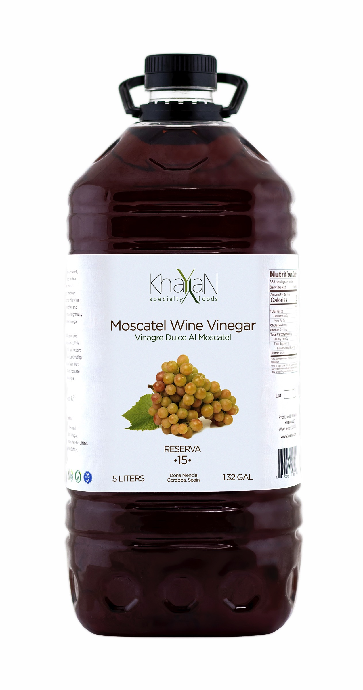 Moscatel Wine Vinegar Institutional Size