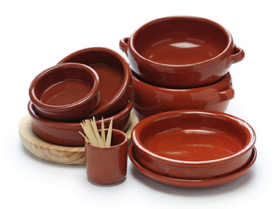 our cazuelas Earthenware from Spain